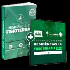 Preparatório Online Extensivo para Residências em Fisioterapia 2020 (Com Livro de Residência Bônus)