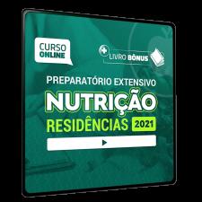 Preparatório Online Extensivo para Residências em Nutrição 2021 (Sem livro)