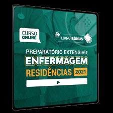 Preparatório Online Extensivo para Residências em Enfermagem 2021 (sem livro)
