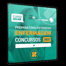 Preparatório Online para Concursos em Enfermagem 2021 (6 meses de acesso)