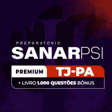 SanarPSI Premium - TJ-PA + 1.000 Questões BÔNUS (12 Meses de Acesso)
