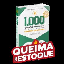1.000 Questões Comentadas de Provas e Concursos em Medicina Veterinária 2020