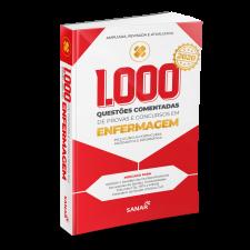 1.000 Questões Comentadas de Provas e Concursos em Enfermagem 2020