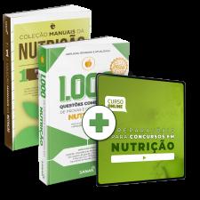 Preparatório Online para Concursos em Nutrição 2020 (Com 2 Livros Bônus)