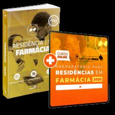 Preparatório Online Extensivo para Residências em Farmácia 2020 (Com Livro de Residência Bônus)