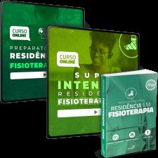 Combo Definitivo para Residências em Fisioterapia (Extensivo + Intensivo + Livro)
