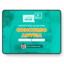 Preparatório Online para Concurso Anvisa