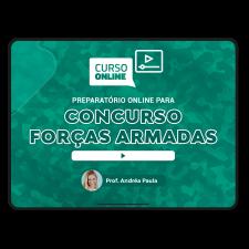 Preparatório Online para Concursos das Forças Armadas