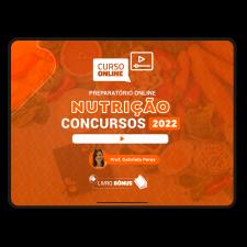 Preparatório Online para Concursos em Nutrição 2021 (Com Livro Bônus)