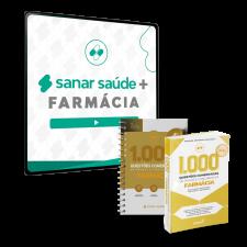 Sanar Saúde + Farmácia (12 meses de assinatura com 2.000 Questões Comentadas)