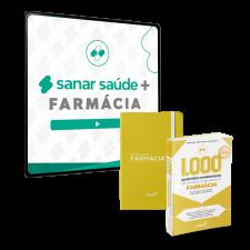 Sanar Saúde + Farmácia (12 meses de assinatura com Sanar Note e 1.000 Questões)