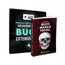 Combo Preparatório Online para Residência em BucomaxiloFacial - EXTENSIVO 2021 (Com Livro Teórico)