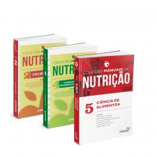 Coleção Manuais da Nutrição para Concursos e Residências (Volumes 2 e 4 - 2ª Edição) + Volume 5