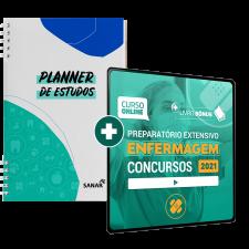 Preparatório Online para Concursos em Enfermagem 2021 (com Planner Bônus)