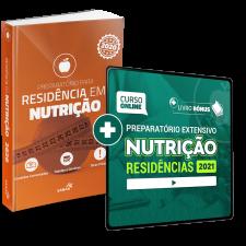 Preparatório Online Extensivo para Residências em Nutrição 2021 (Com Livro Bônus)