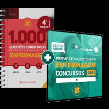 Preparatório Online para Concursos em Enfermagem 2021 (com Livro Bônus)