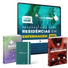 Preparatório Online Extensivo para Residências em Enfermagem 2020 (Com 3 Livros Bônus)