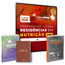 Preparatório Online Extensivo para Residências em Nutrição 2020 (Com 3 Livros Bônus)