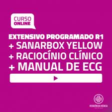 Extensivo Programado Sanar Residência Médica - R1 (1 ano) - Black Week (Bônus Exclusivos)