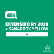 Extensivo Sanar Residência Médica - R1 (2020) - Black Week (Bônus Exclusivos)