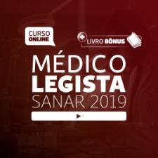 Preparatório Online para Concursos de Médico Legista - Sanar 2019 (Livro Bônus)