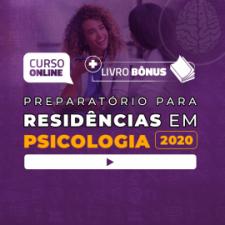 Preparatório Online para Residências em Psicologia 2020 (Livro Bônus)