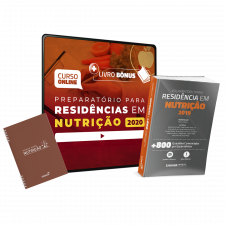 Preparatório Online Extensivo para Residências em Nutrição 2020 (Com Livro Bônus e Sanar Note)