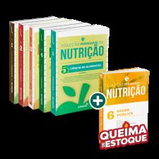 Coleção Manuais da Nutrição - 2ª Edição (Volumes 1, 2, 3, 4 e 5) + Volume 6