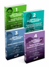 Coleção Manuais de Enfermagem para Concursos e Residências (Volumes 1, 2, 3 & 4)