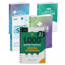 Combo Concurseiro em Medicina Veterinária (5 Livros)