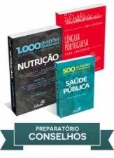 Nutrição: Combo preparatório para concursos dos Conselhos Regionais
