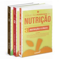 Coleção de Manuais da Nutrição para Concursos e Residências (Volumes 1, 2 e 3)