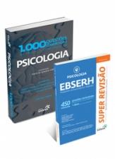 1.000 Questões Comentadas de Provas e Concursos Psicologia + SUPER REVISÃO - PSICOLOGIA - EBSERH - 450 Questões Comentadas
