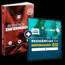 Preparatório Online Extensivo para Residências em Enfermagem 2020 (Com Livro Bônus)