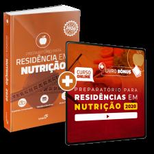 Preparatório Online Extensivo para Residências em Nutrição 2020 (Com Livro Bônus)