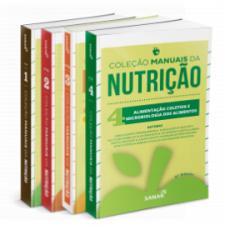 Coleção Manuais da Nutrição para Concursos e Residências (Volumes 1, 2, 3 e 4)