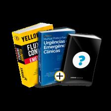 Yellowbook Emergência + Manual Prático para Urgências e Emergências Clínicas + LIVRO SURPRESA GRATUITO