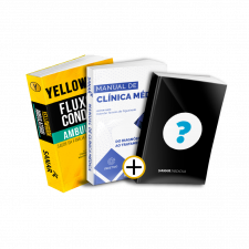 Yellowbook Ambulatório + Manual de Clínica Médica + LIVRO SURPRESA GRATUITO