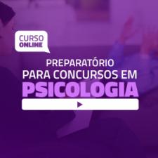Preparatório Online para Concursos em Psicologia (sem livro)