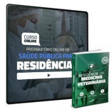 Preparatório Online de Saúde Pública para Residências (com Livro Preparatório para Residência em Medicina Veterinária)