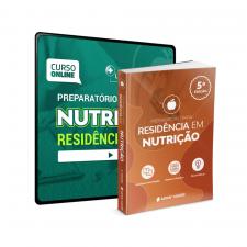 Preparatório Online Extensivo para Residências em Nutrição 2021 (Com Livro Bonus)
