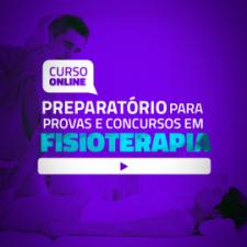 Curso Online Preparatório para provas e concursos em Fisioterapia