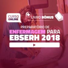 Preparatório Online para Concursos em Enfermagem - EBSERH 2018