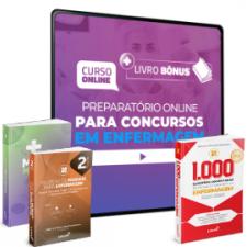 Preparatório Online para Concursos em Enfermagem 2020 (Com 3 Livros Bônus)