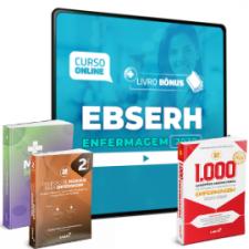 Preparatório Online para Concursos EBSERH em Enfermagem 2020 (Com 3 Livros Bônus)