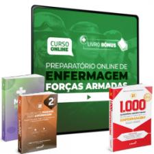 Preparatório Online para Concursos de Forças Armadas em Enfermagem 2020 (Com 3 Livros Bônus)