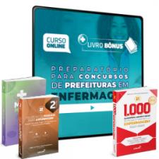 Preparatório Online para Concursos de Prefeituras em Enfermagem 2020 (Com 3 Livros Bônus)