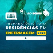 Preparatório Online Extensivo para Residências em Enfermagem 2020 (Sem Livro)