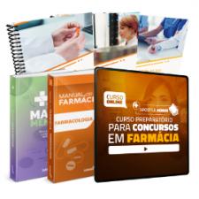 Preparatório Online para Concursos em Farmácia 2020 (Com 2 Livros e Apostilas Bônus)