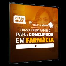 Preparatório Online para Concursos em Farmácia 2020 (Sem Livro)